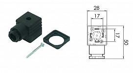 Konektor magnetnih ventilov