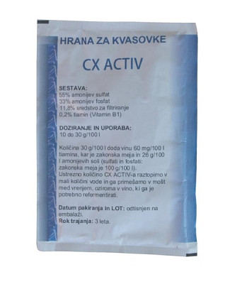 Hrana za kvasovke CX Activ