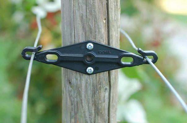 Nosilec parov žic Duohalter