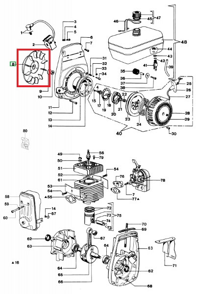Magnet črpalke SA45