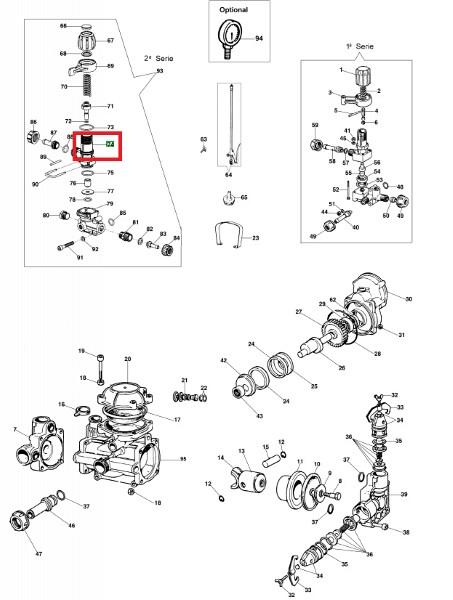 Ohišje regulirnega ventila