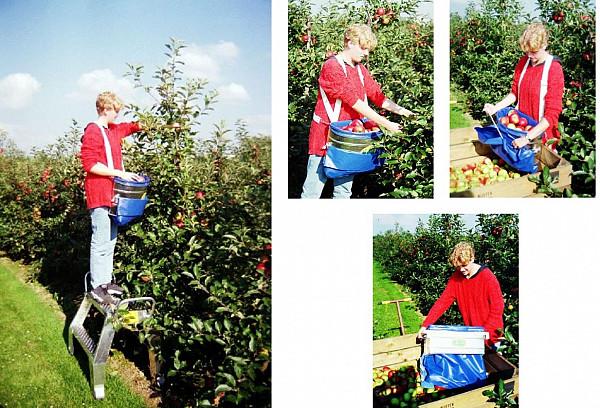 Torbe za obiranje sadja