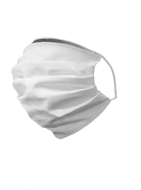 Zaščitna maska dvoslojna - bombaž- 4 kosi